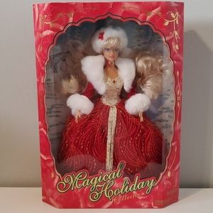 Barbie magical holiday doll